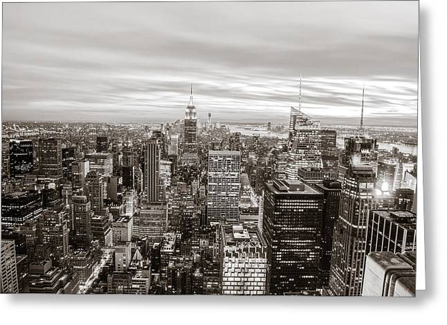 Architecture Greeting Cards - New York City Greeting Card by Vivienne Gucwa