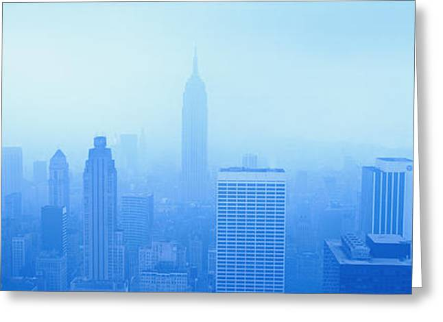Envelop Greeting Cards - Nyc, New York City New York State, Usa Greeting Card by Panoramic Images