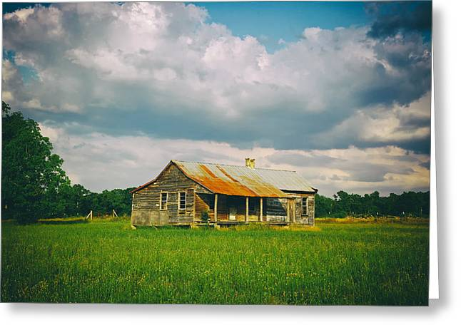 Alabama Greeting Cards - Old Alabama Cabin Greeting Card by Mountain Dreams