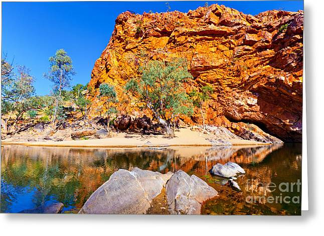 Mcdonnell Greeting Cards - Ormiston Gorge Greeting Card by Bill  Robinson