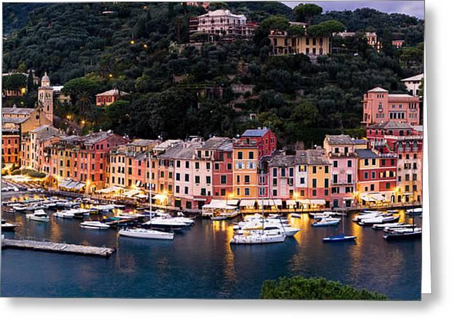 Portofino Italy Greeting Cards - Portofino Italy Greeting Card by Carl Amoth