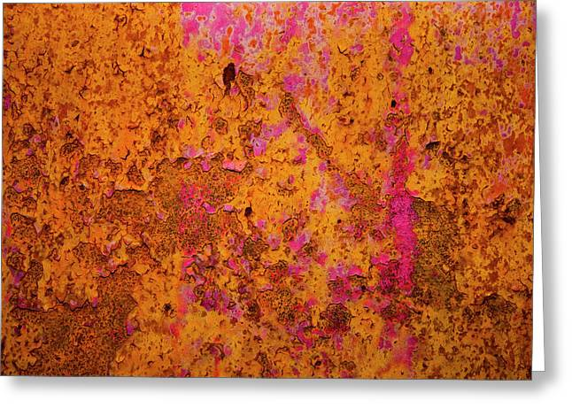 Rust And Metal Series Greeting Card by Mark Weaver