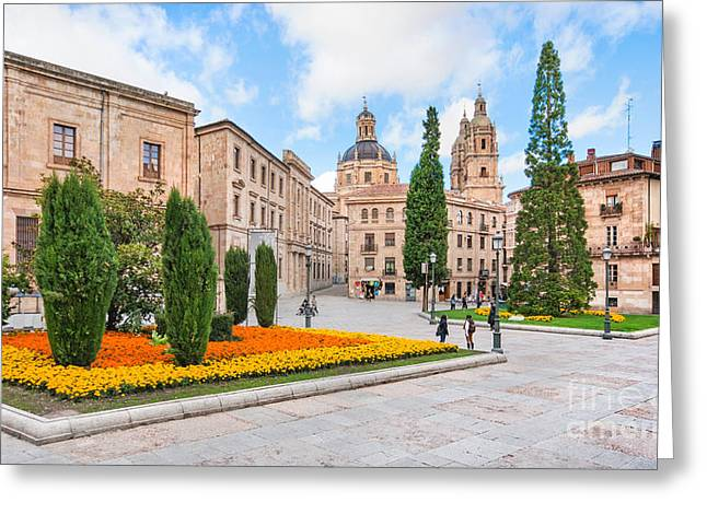 Southern Province Greeting Cards - Salamanca Greeting Card by JR Photography