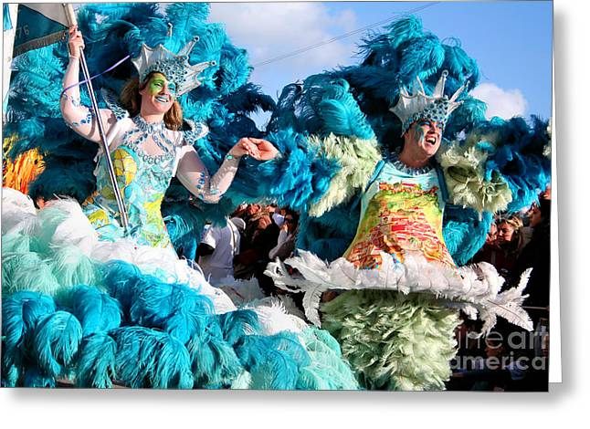 Festivities Greeting Cards - Samba Carnival Joy Greeting Card by Jose Elias - Sofia Pereira
