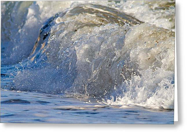 Dander Greeting Cards - Sea Greeting Card by Stylianos Kleanthous