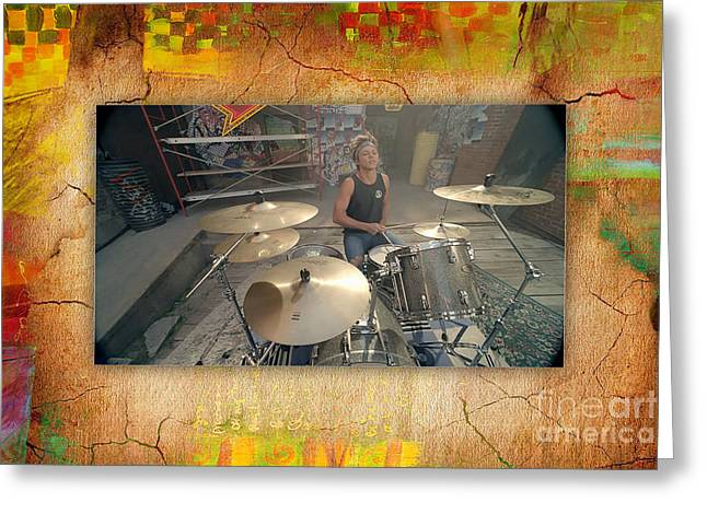 Pop Mixed Media Greeting Cards - 5 Seconds Of Summer Greeting Card by Marvin Blaine