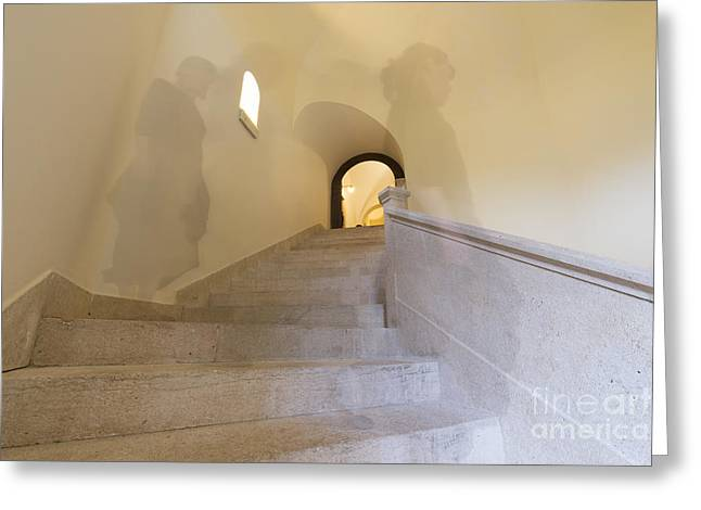 Flight Of Stairs Greeting Cards - Stairs Greeting Card by Mats Silvan