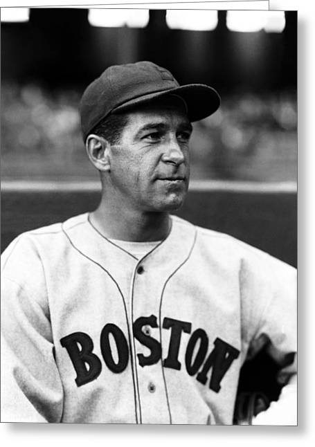 Boston Red Sox Greeting Cards - Stanley R. Bucky Harris Greeting Card by Retro Images Archive