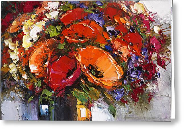 Best Seller Greeting Cards - Still Life  Greeting Card by Michael Shabrin