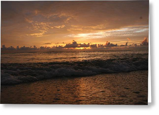 sunrise Greeting Card by Roque Rodriguez