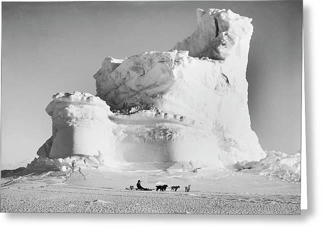 Terra Nova Antarctic Exploration Greeting Card by Scott Polar Research Institute