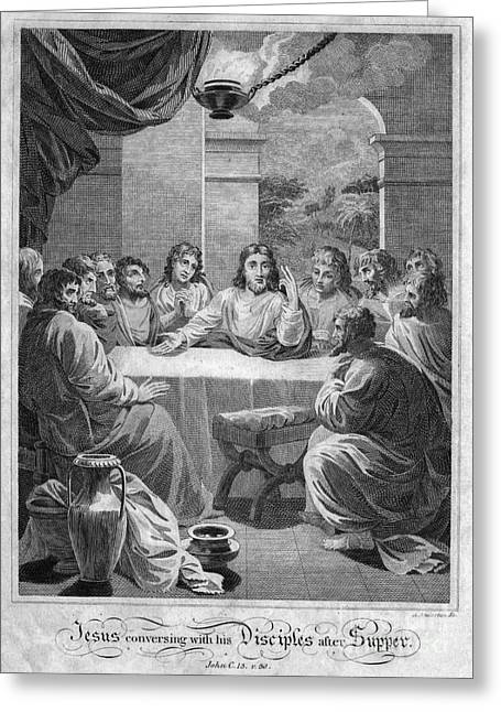 Apostle Philip Greeting Cards - The Last Supper Greeting Card by Granger
