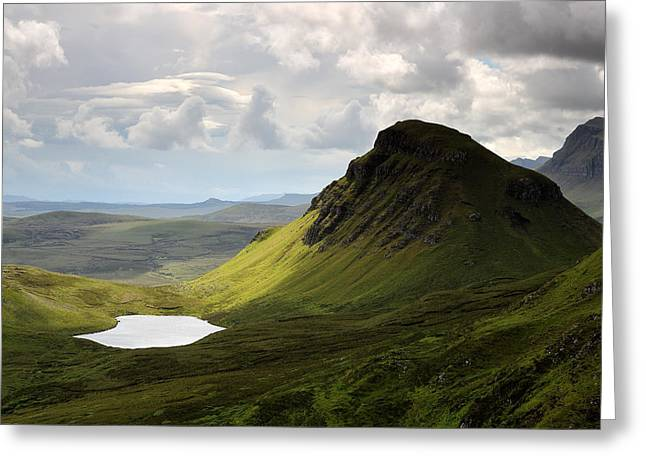 Western Isles Greeting Cards - The Quiraing Greeting Card by Grant Glendinning