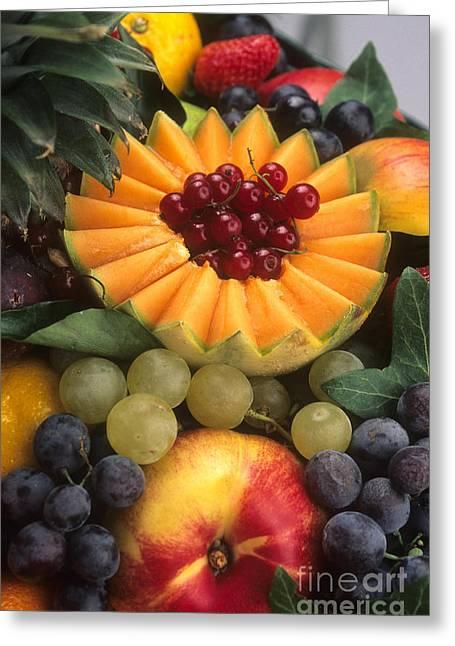 Various Greeting Cards - Variety of fruits. Greeting Card by Bernard Jaubert