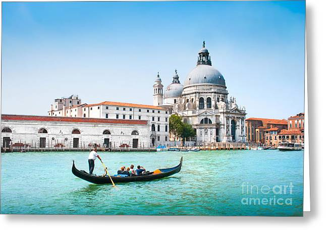 Italian Islands Greeting Cards - Venice Greeting Card by JR Photography