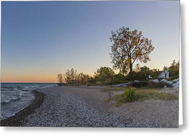 Wind Point Lighthouse Greeting Card by Twenty Two North Photography