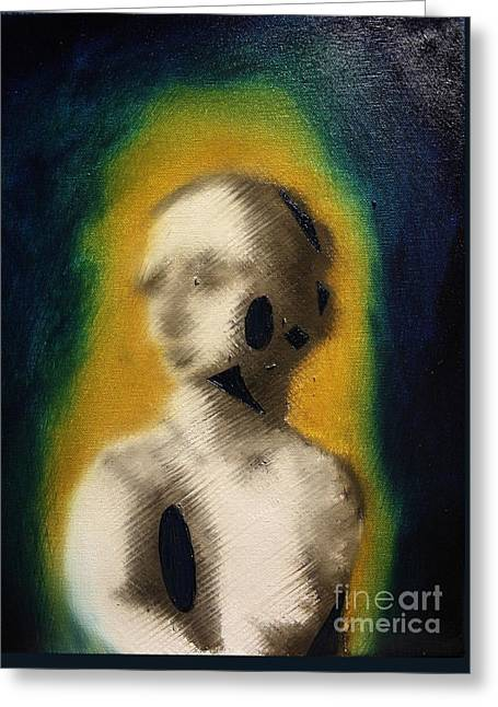 Michael Kulick Greeting Cards - Woman Greeting Card by Michael Kulick
