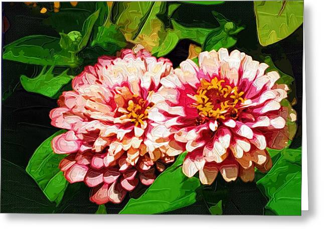 Easter Flowers Greeting Cards - Poster Flowers Greeting Card by Victor Gladkiy