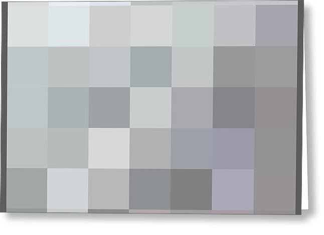Fifty Shades Of Grey Greeting Cards - 50 Shades of Grey Greeting Card by Richard Reeve