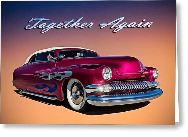 '51 Mercury Greeting Card by Douglas Pittman