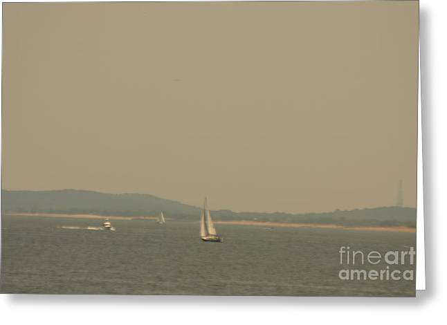 Caves Greeting Cards - Boat Greeting Card by Eric Brock