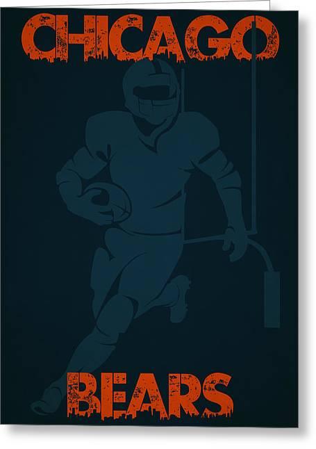 Chicago Bears Greeting Cards - Chicago Bears Greeting Card by Joe Hamilton