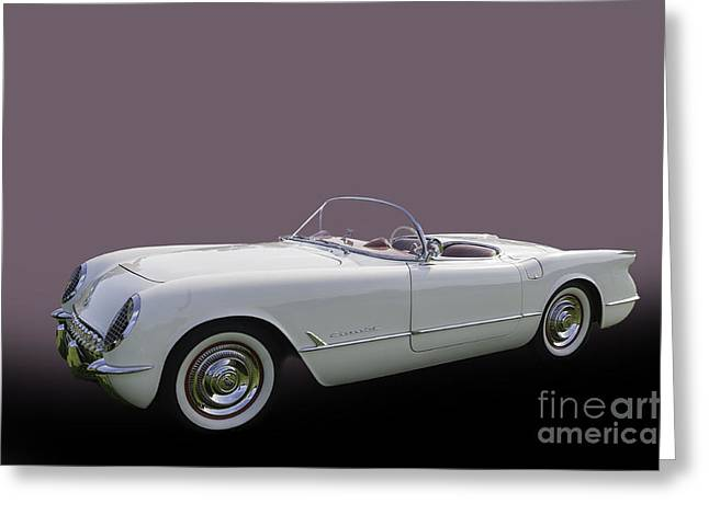 53 Greeting Cards - 53 Corvette Greeting Card by Jim  Hatch