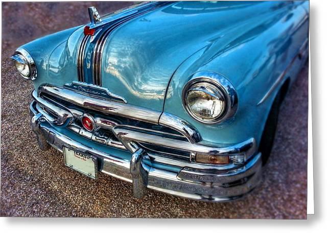 Beautiful Car Greeting Cards - 53 Pontiac Catalina Greeting Card by Linda Unger