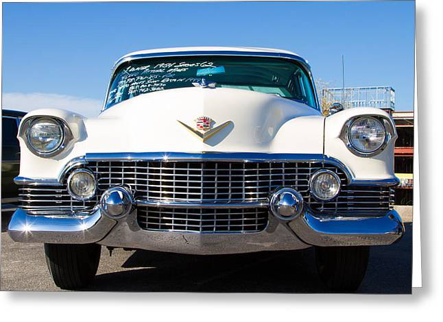 Coolant Greeting Cards - 54 Caddy Greeting Card by Robert L Jackson