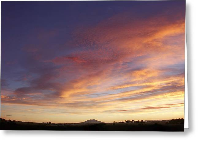 Season. Sky. Clouds Greeting Cards - New Zealand Greeting Card by Les Cunliffe