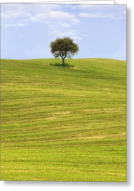 Montalcino Greeting Cards - Tuscany Greeting Card by Joana Kruse