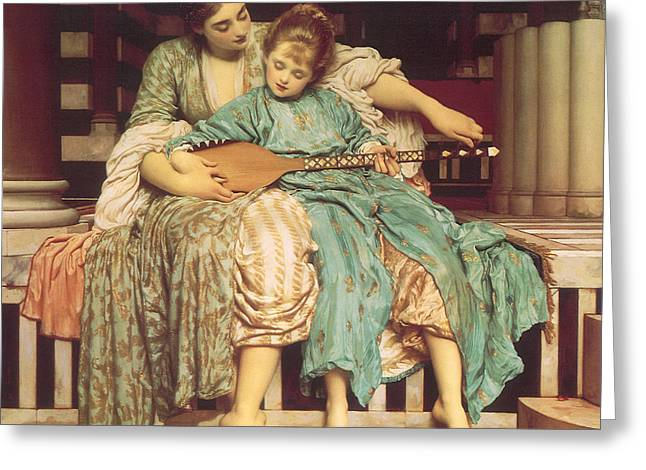 Obey Paintings Greeting Cards - Victorian art piece Greeting Card by Indian Summer