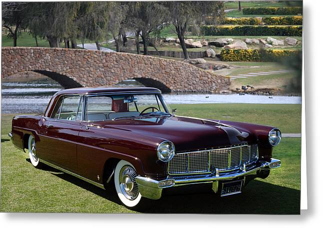 56 Continental Greeting Card by Bill Dutting