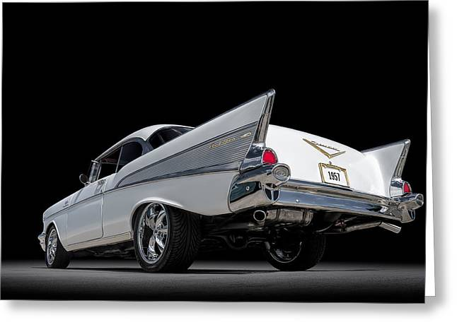 Chevy Greeting Cards - 57 Bel Air Greeting Card by Douglas Pittman