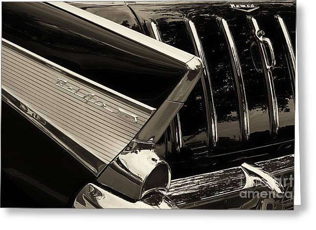 Station Wagon Greeting Cards - 57 Nomad Greeting Card by Dennis Hedberg