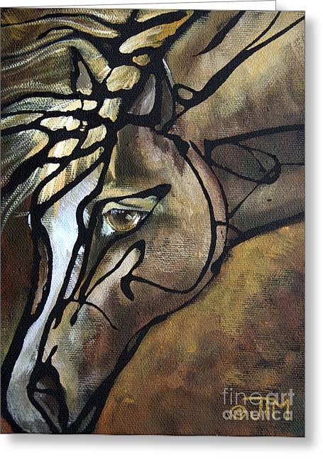 Paso Fino Horse Greeting Cards - #58 July 19th Greeting Card by Jonelle T McCoy