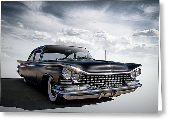 Classic Digital Greeting Cards - 59 LaSabre Greeting Card by Douglas Pittman