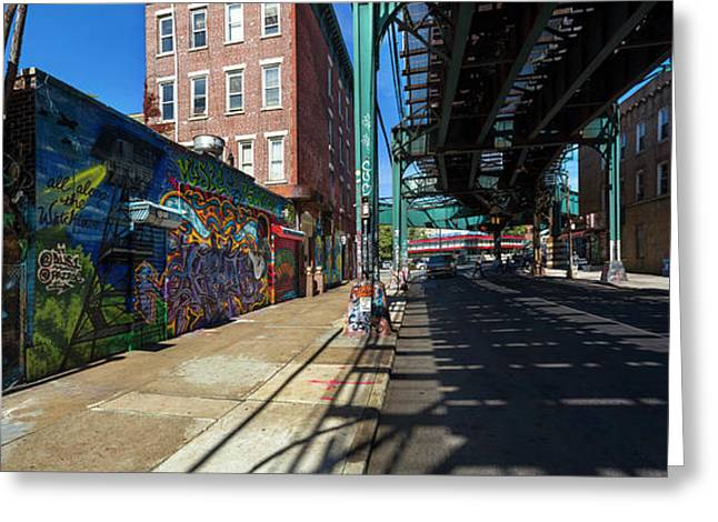 5pointz Aerosol Art Center, Long Island Greeting Card by Panoramic Images