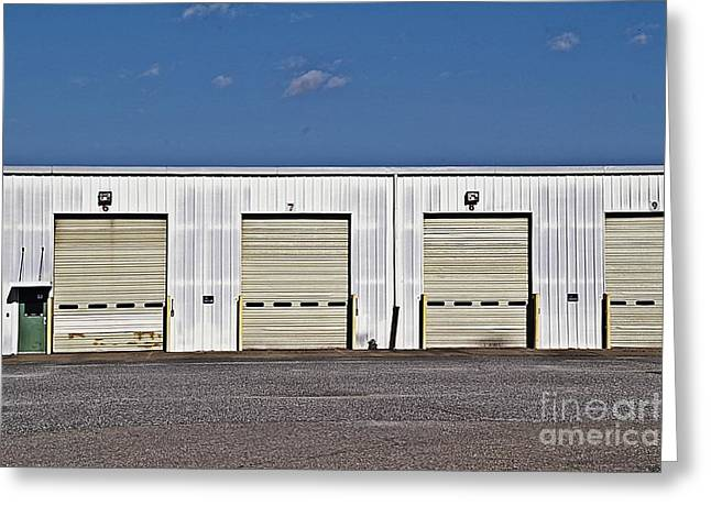 Not In Use Greeting Cards - 6 7 8 9 Warehouse  Greeting Card by JW Hanley