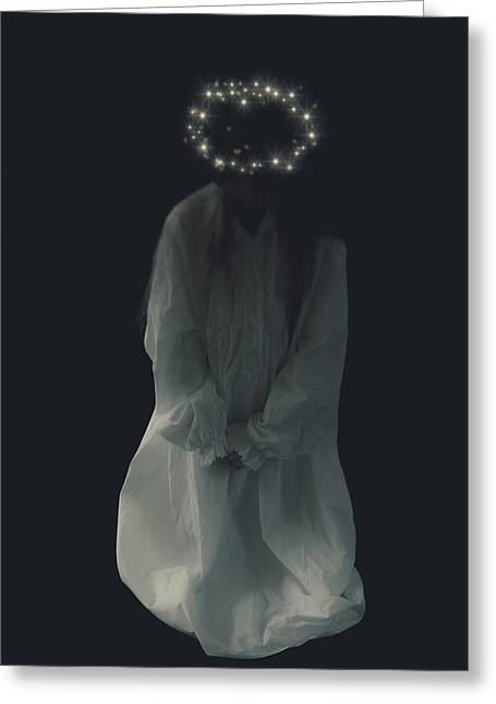Angel Greeting Card by Joana Kruse