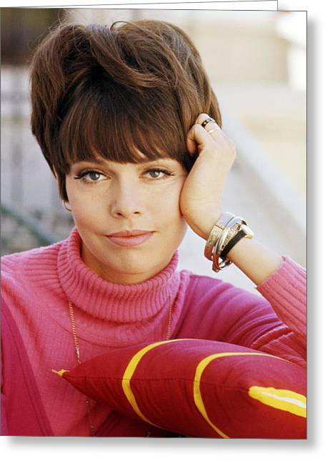 Get Greeting Cards - Barbara Feldon in Get Smart  Greeting Card by Silver Screen