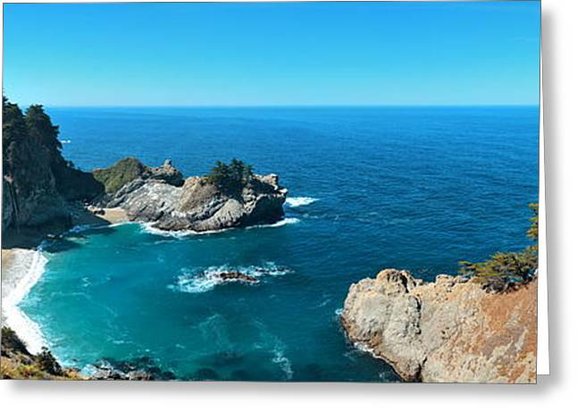 Big Sur Beach Greeting Cards - Big Sur Greeting Card by Songquan Deng