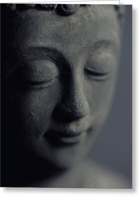 Buddha Greeting Card by Falko Follert