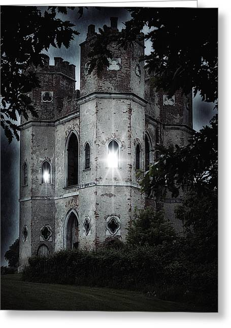 Haunted Castle Greeting Cards - Castle Greeting Card by Joana Kruse