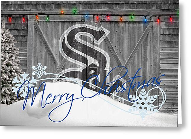 White Photographs Greeting Cards - Chicago White Sox Greeting Card by Joe Hamilton