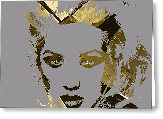Christina Aguilera Greeting Cards - Christina Aguilera Collection Greeting Card by Marvin Blaine