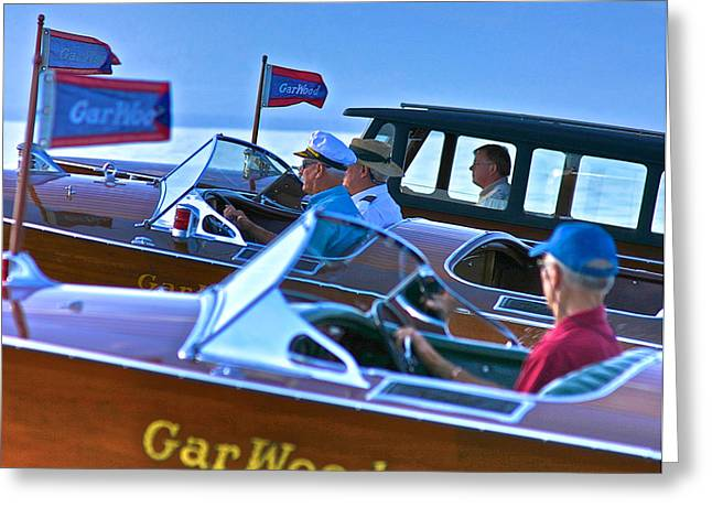 Maritime Classics Greeting Cards - Classic Gar Wood Greeting Card by Steven Lapkin