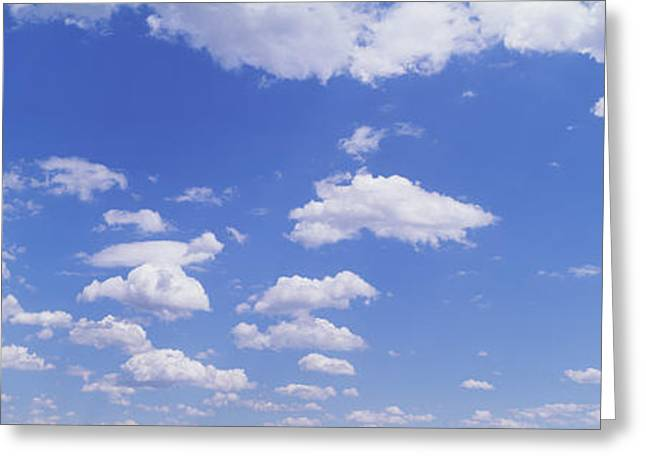 Numerous Greeting Cards - Clouds Greeting Card by Panoramic Images