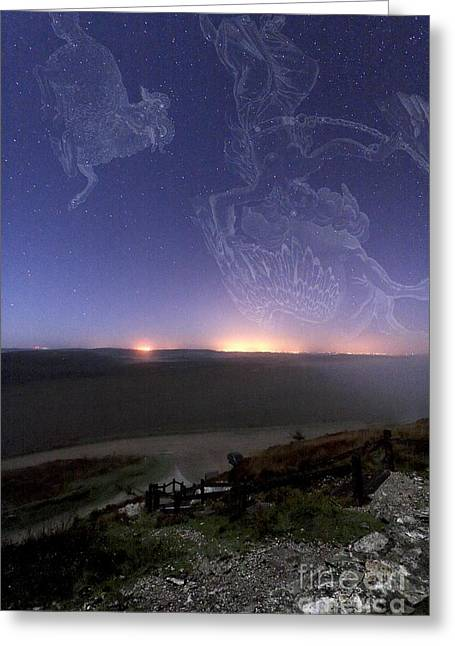Constellations Greeting Cards - Constellations Greeting Card by Laurent Laveder