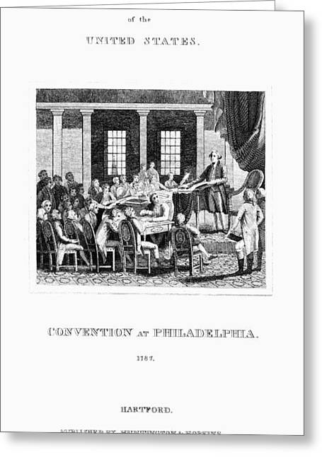 Constitutional Convention Greeting Cards - Constitutional Convention Greeting Card by Granger